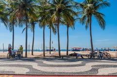 Copacabana beachlife Stock Photo