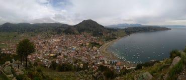 Copacabana - Bolivië stock afbeeldingen