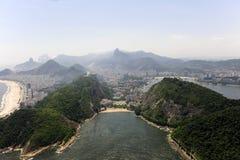 copacabana De Janeiro praia Rio vermelha zdjęcie stock