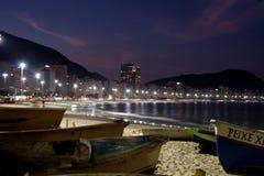 copacabana de janeiro rio Стоковая Фотография
