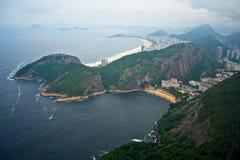 copacabana góry sugarloaf zdjęcia royalty free