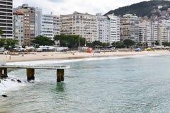 Copacabana le soir Photos stock