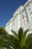 Copacabana Palace Hotel Rio de Janeiro stock image