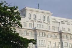 Copacabana palace, rio de janeiro Royalty Free Stock Image
