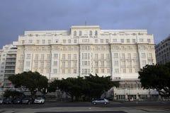 Copacabana palace, rio de janeiro Royalty Free Stock Images