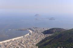 Copacabana, Rio de Janeiro, aerial view Royalty Free Stock Photography