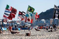 Copacabana strand Royaltyfria Bilder