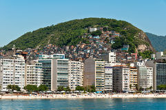 Copacabana-Strand, Rio de Janeiro, Brasilien Lizenzfreies Stockfoto