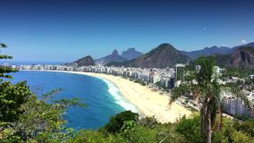 Copacabana strand Rio de Janeiro Brazil Scenic Overlook lager videofilmer