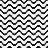 Copacabana waves pattern Stock Image