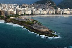 Copacabanafort royalty-vrije stock foto