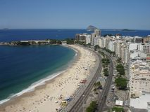 Copacabanas Strand Stockfotos