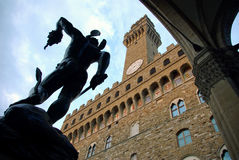 Copain. Vecchio, Florence, Italie Images stock