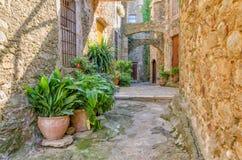 Copains, Costa Brava, Espagne Image stock