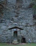 Copan废墟在Copan,洪都拉斯 免版税库存照片