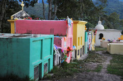 copan的墓地 免版税库存图片