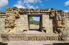 Copan Archeological park Stock Photos