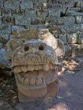 Copan arkeologisk plats av Mayan civilisation, inte långt från gränsen med Guatemala Det var huvudstaden av det huvudsakliga klas royaltyfria foton