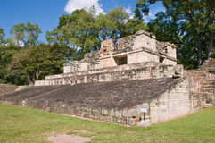 Copan-ballcourt Stockfotos