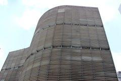 Copan budynek w sao Paulo Brazylia zdjęcie stock
