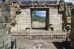 Copan del maya en Honduras Fotografía de archivo libre de regalías