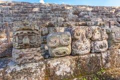 Copan Ruinas. The Mayan Ruin in Honduras Stock Photos