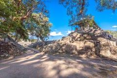 Copan Ruinas. The Mayan Ruin in Honduras Royalty Free Stock Image