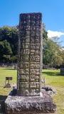 Copan Ruinas. The Mayan Ruin in Honduras Royalty Free Stock Photos
