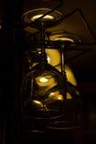 Copas de vino de la ejecución Foto de archivo libre de regalías