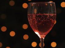 Copas de vino en un vector Imagenes de archivo