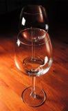 Copas de vino rojas Fotografía de archivo libre de regalías