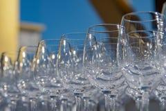 Copas de vino 2 urbanos Fotos de archivo libres de regalías