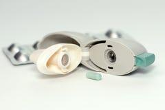 COPD吸入器 免版税库存图片