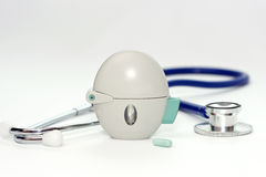 COPD吸入器 免版税图库摄影