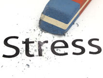 Cope with a stress concept Stock Images