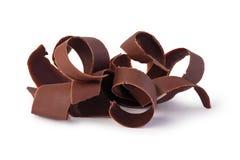 Copeaux de chocolat image libre de droits