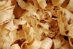 Copeaux en bois images libres de droits
