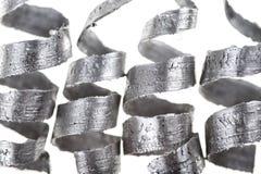 Copeaux en métal Images stock