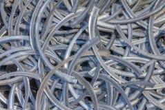 Copeaux en métal photo stock