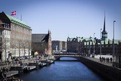 Copenaghen Fotografie Stock
