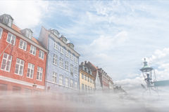 Copenaghen nihawn houses Royalty Free Stock Photos