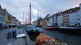 Copenaghen, Nyhavn photo stock