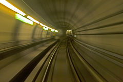 Copengagen subway Royalty Free Stock Photos