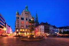 Copenhaga - Amagertorv Imagem de Stock Royalty Free