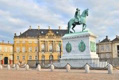 Copenhaga, Amalienborg fotos de stock royalty free