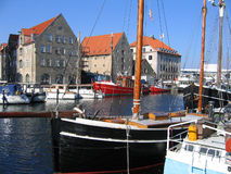 Copenhaga bonito Dinamarca Fotos de Stock Royalty Free