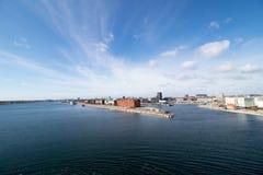Copenhaga, a capital de Dinamarca Fotografia de Stock