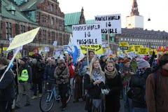 COPENHAGA - DEC 12 Fotografia de Stock Royalty Free