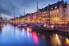 Copenhaga Dinamarca Imagens de Stock Royalty Free