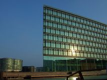 Copenhagen. A modern office building in the skyline of copenhagen Royalty Free Stock Photos